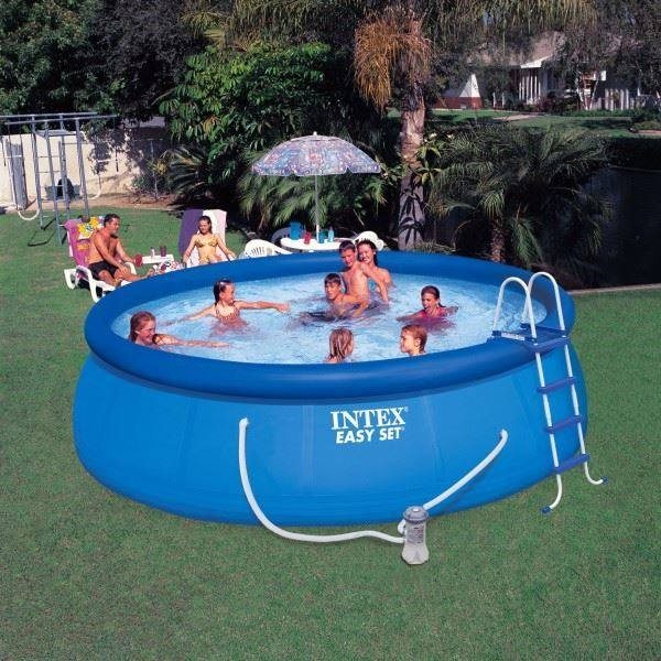 Intex easy set pool 457x122cm 56912sw chf 179 insider deal for Quick up pool 120 hoch